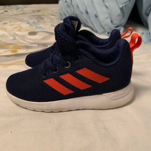 Toddler boys size 8 adidas tennis shoes